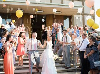 The wedding of Hayli and Quintin