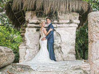 The wedding of JoLynn and Mark