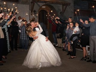 The wedding of Faith and Spencer 3
