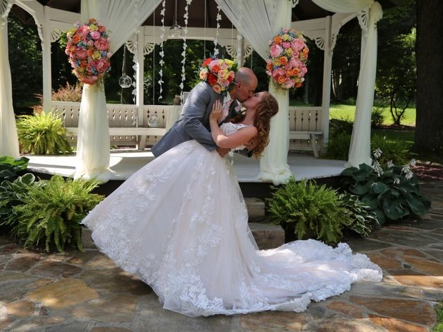The wedding of Krista  and Jordan