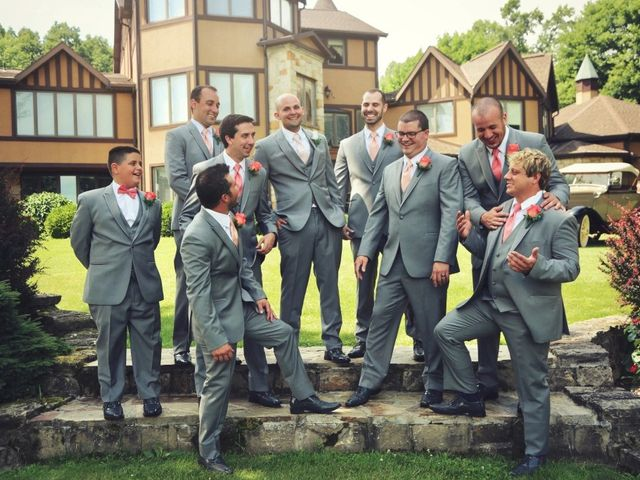 Jordan  and Krista 's Wedding in Freeport, Pennsylvania 2