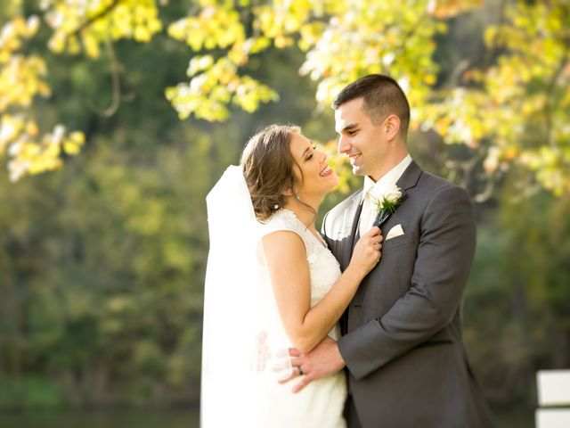 The wedding of Jessica and Timothy