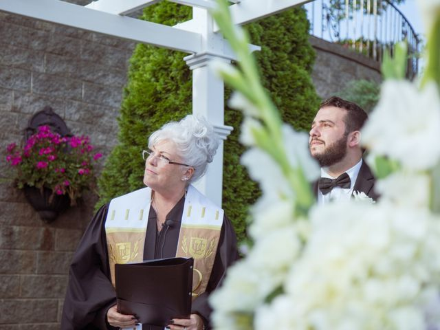 Michael and Amber's Wedding in Scotia, New York 8