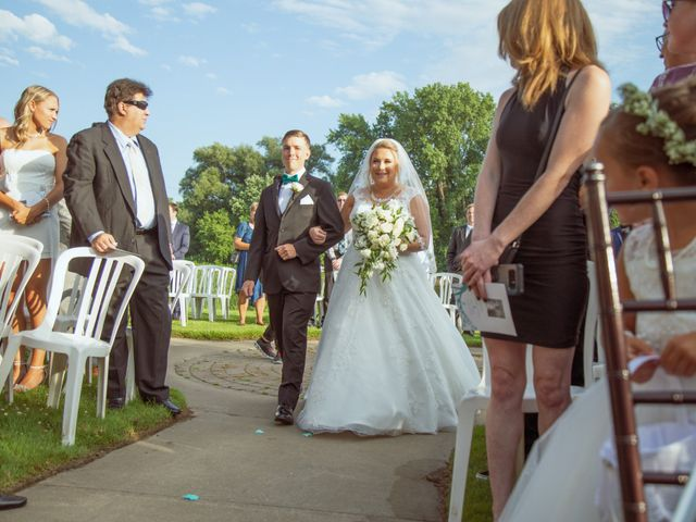 Michael and Amber's Wedding in Scotia, New York 9