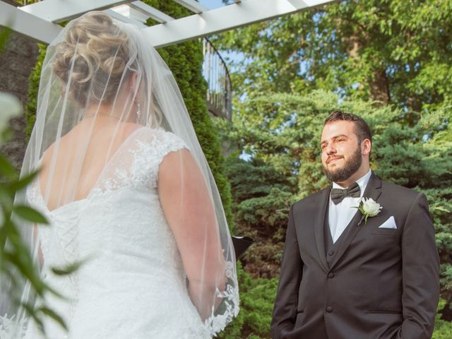 Michael and Amber's Wedding in Scotia, New York 10