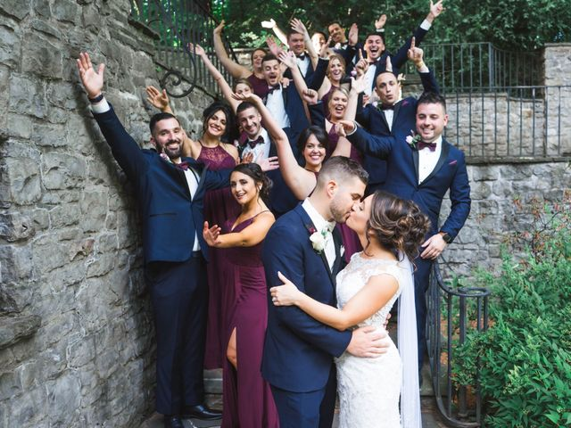 Emily and Michael's Wedding in Rochester, New York 33
