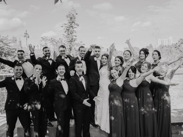Emily and Michael's Wedding in Rochester, New York 36