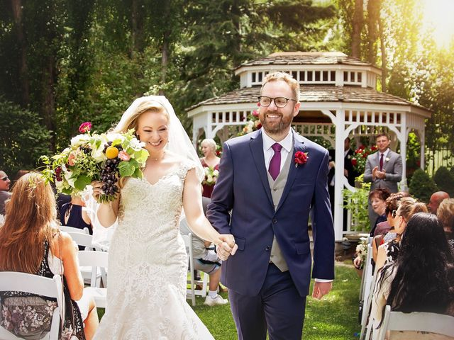 The wedding of Samantha and Tj Durrant