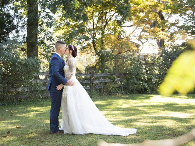 The wedding of Nicole and Logan