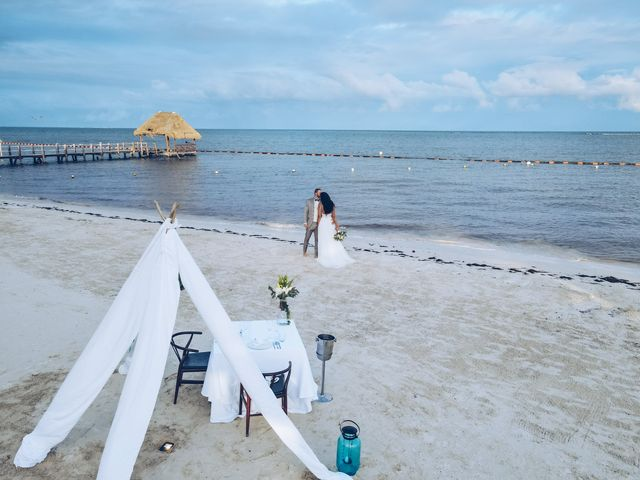 Leo and Marisa's Wedding in Cancun, Mexico 30