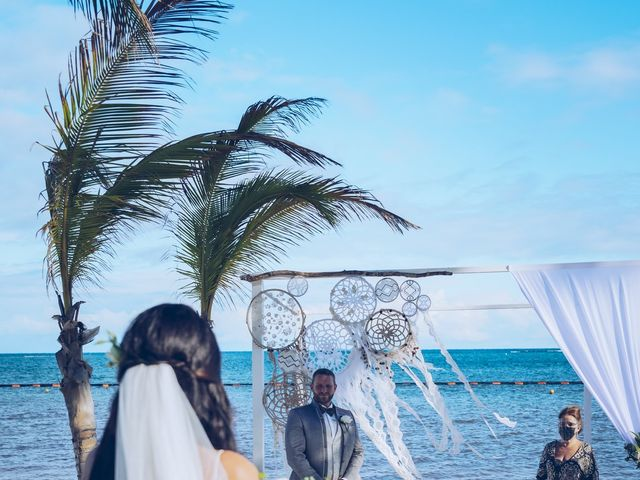 Leo and Marisa's Wedding in Cancun, Mexico 25
