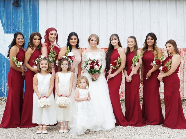 Spencer and Faith's Wedding in Crosby, Texas 56