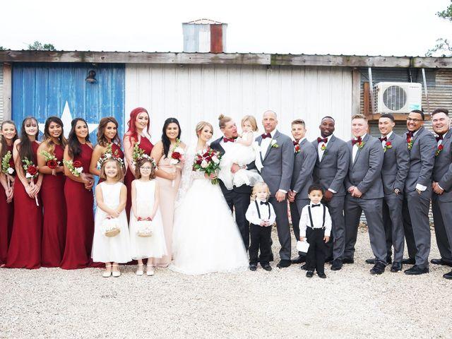 Spencer and Faith's Wedding in Crosby, Texas 57