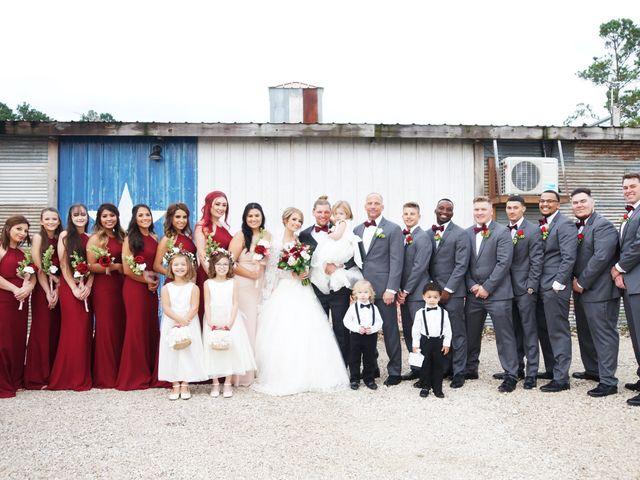 Spencer and Faith's Wedding in Crosby, Texas 58