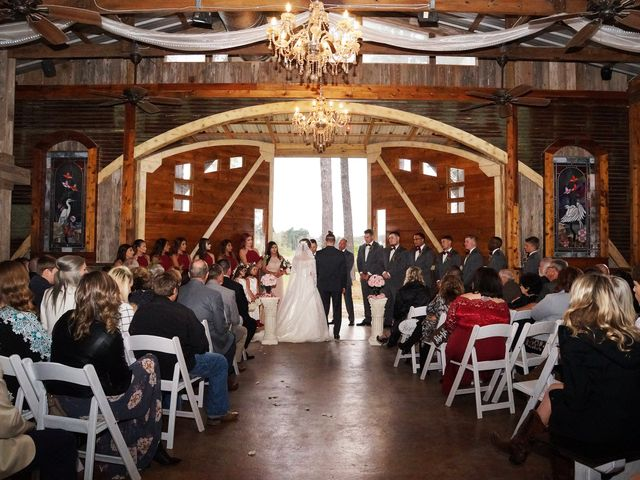 Spencer and Faith's Wedding in Crosby, Texas 63