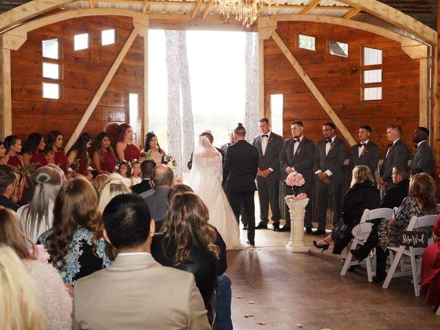 Spencer and Faith's Wedding in Crosby, Texas 67