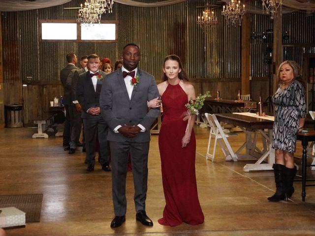 Spencer and Faith's Wedding in Crosby, Texas 73