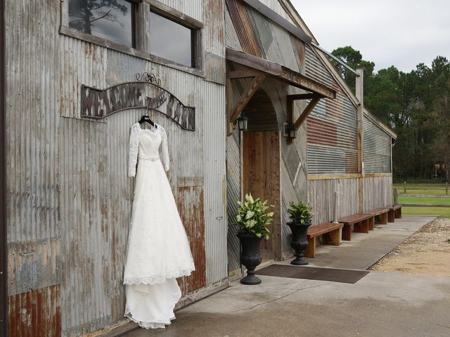 Spencer and Faith's Wedding in Crosby, Texas 86