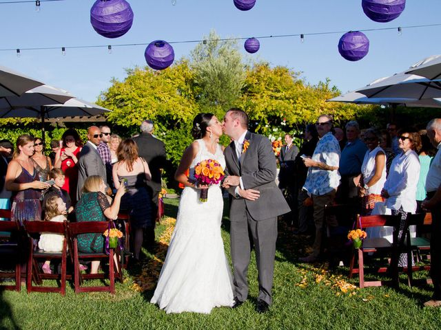 Angela and Carlino's Wedding in Sonoma, California 11