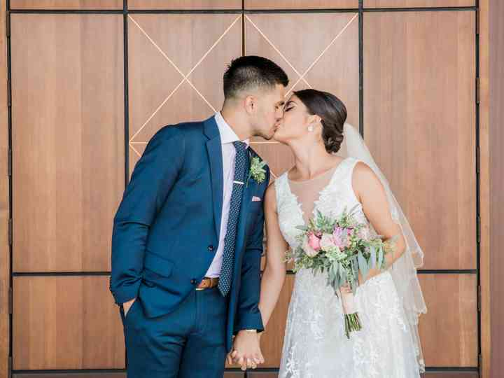 The wedding of Chloe and Ricardo