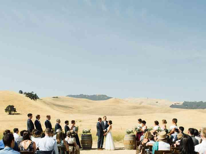 The wedding of Alyssa and Thomas