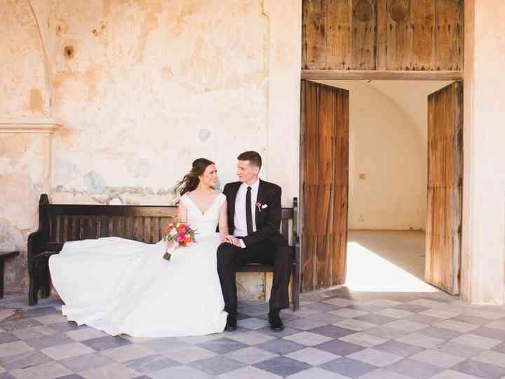 The wedding of Elizabeth and Diego