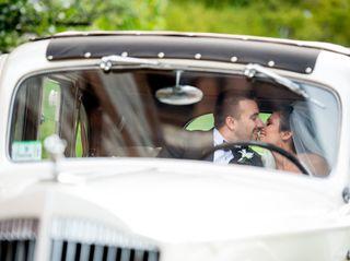 The wedding of Rachele and Blake