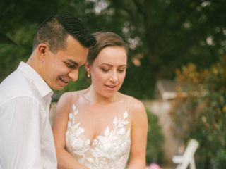 The wedding of Christina and Gustavo 1