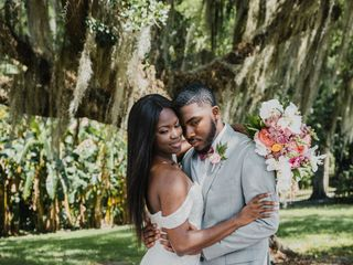 The wedding of Christa and Marquise 1