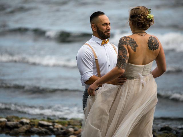 The wedding of Avery and Ruari