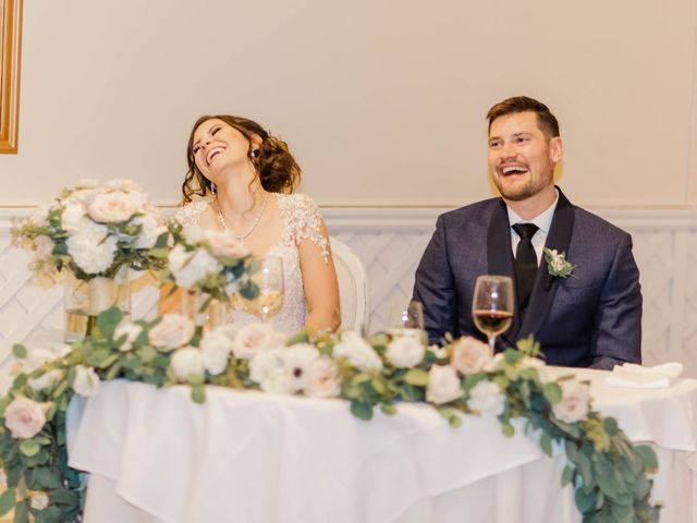 The wedding of Stephanie and Trevor