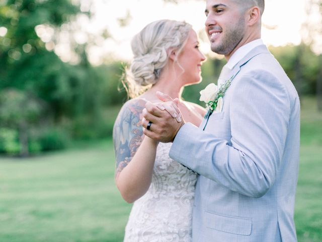 John and Brianna's Wedding in Middletown, New York 13