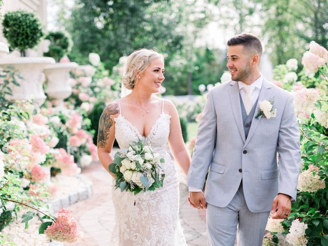 The wedding of Brianna and John