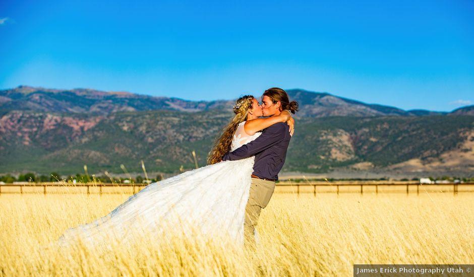 Dan and Lindsey's Wedding in Kanosh, Utah