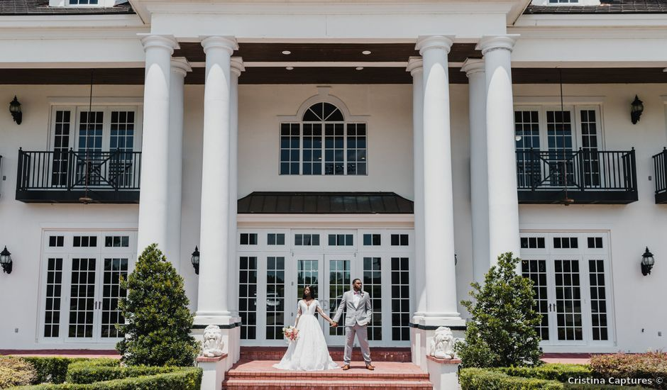 Marquise and Christa's Wedding in Winter Springs, Florida