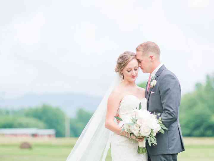 The wedding of Paige and Josh