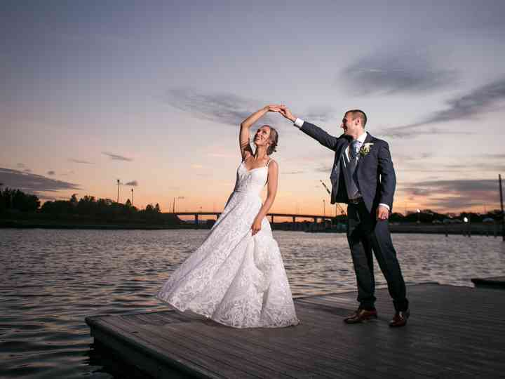 The wedding of Caitlin and Kyle