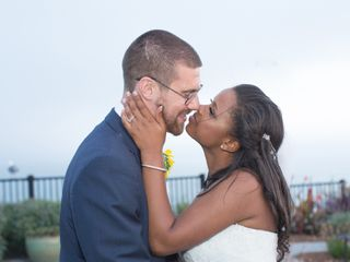 The wedding of Domonique and Joshua