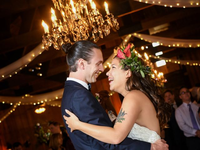 The wedding of Madison and Evan