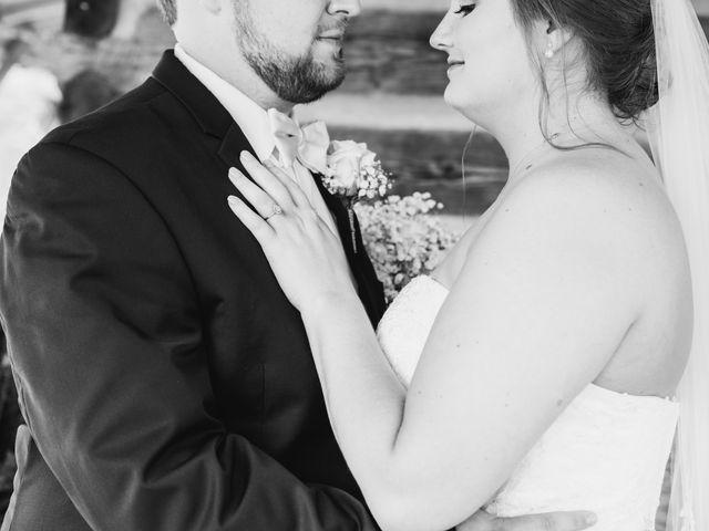 Garrison  and Brianna's Wedding in Staley, North Carolina 1