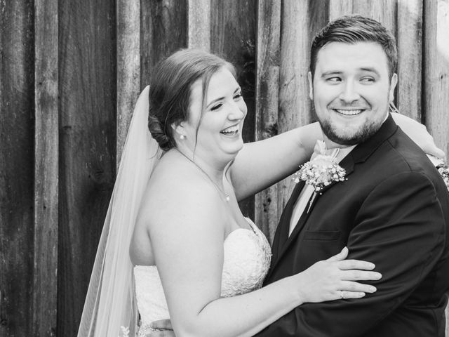 Garrison  and Brianna's Wedding in Staley, North Carolina 9