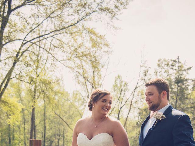 Garrison  and Brianna's Wedding in Staley, North Carolina 10