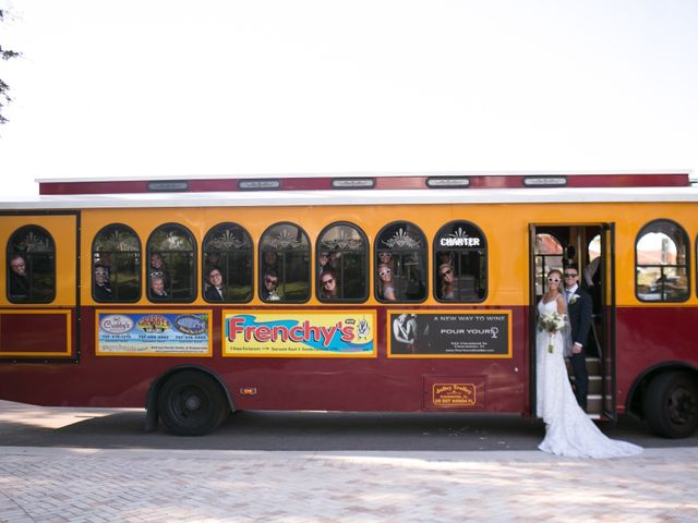 Kyle and Caitlin's Wedding in Tampa, Florida 3