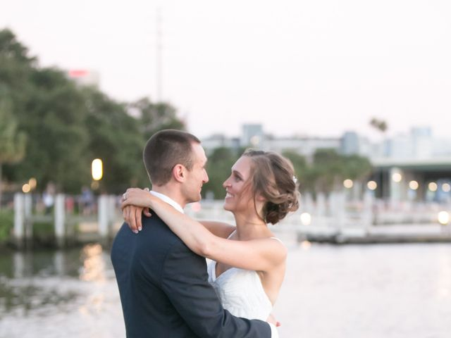 Kyle and Caitlin's Wedding in Tampa, Florida 20