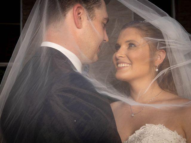 The wedding of Brooke and David