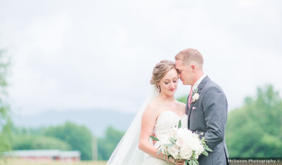 Josh and Paige's Wedding in Murphy, Tennessee