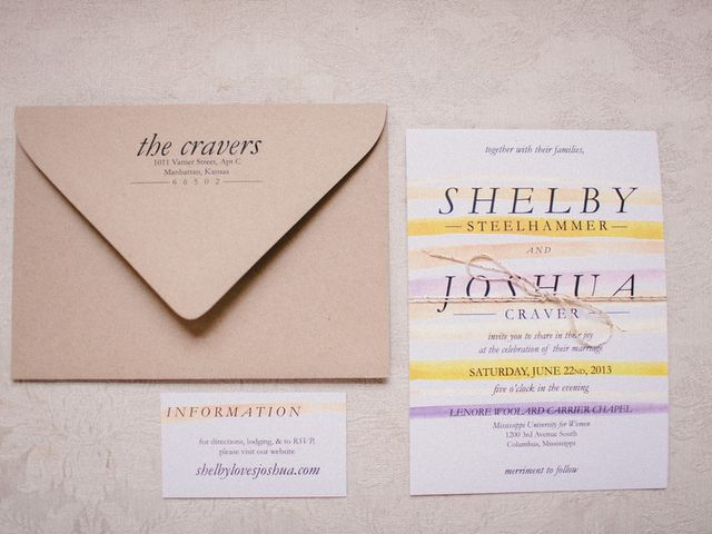Shelby and Joshua's Wedding in Columbus, Mississippi 1