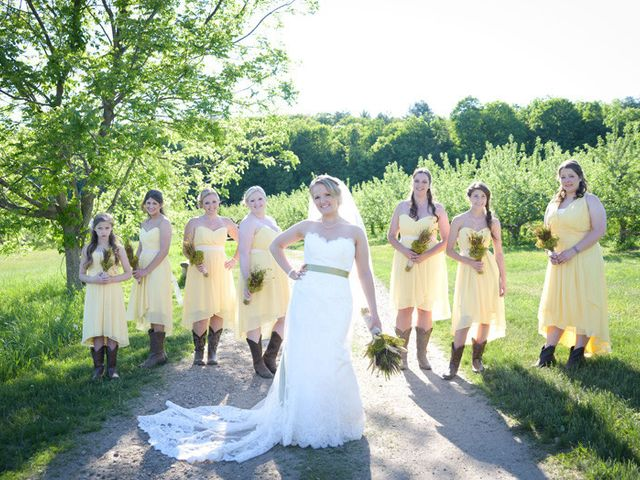 Kelsey and Dave's Wedding in Whately, Massachusetts 5