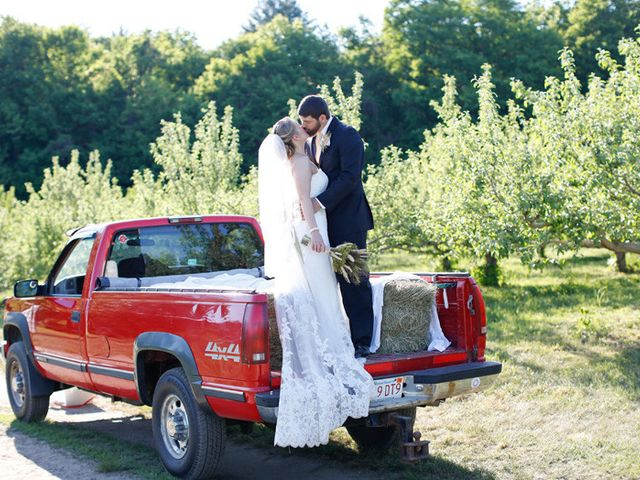 Kelsey and Dave's Wedding in Whately, Massachusetts 16
