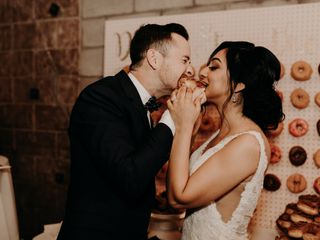 The wedding of Araceli and Kyle